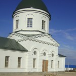 Отделка фасада церкви в Богучарском районе