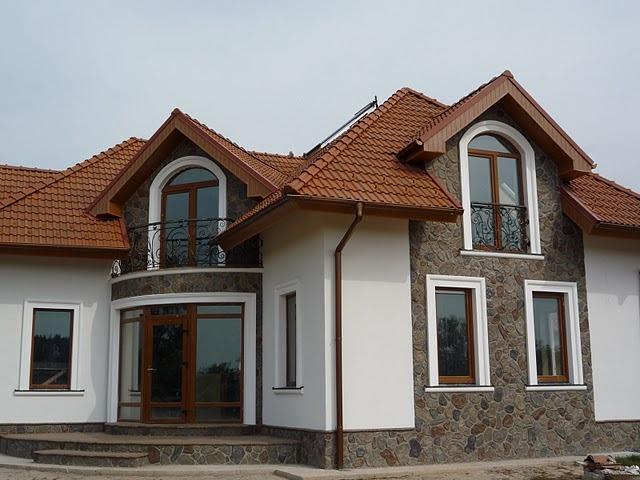 Минеральная фасадная штукатурка для отделки дома