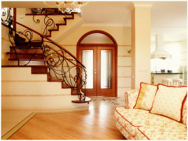 Красивая отделка домов изнутри
