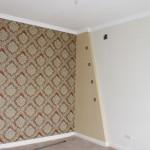 Ремонт спальни в коттедже