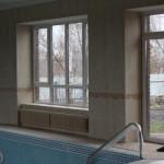 Укладка плитки в бассейне