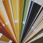 Материал колеруется по цветовому вееру