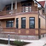 Отделка фасада мраморной крошкой от 2000р/м2 (работа+материалы)
